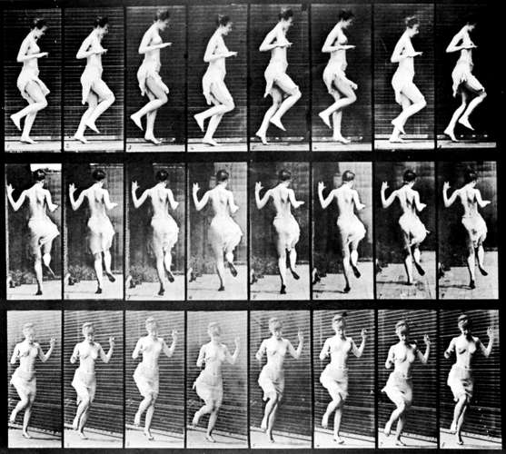 This image has an empty alt attribute; its file name is series-figure-hopping-photographs-eadweard-muybridge-cooper-hewitt-1887.jpg