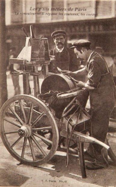 Les petits métiers de Paris,  1900, Fig 4